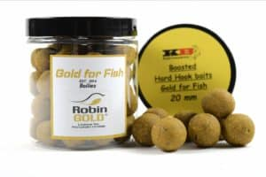 Boosted Hard Hook Gold for Fish KB Boilies