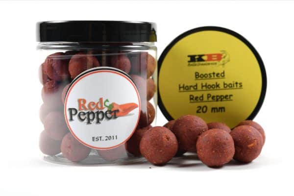 Boosted Hard Hook Red Pepper KB Boilies