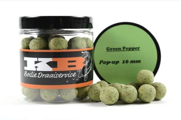 Pop Ups Green Pepper KB Boilies