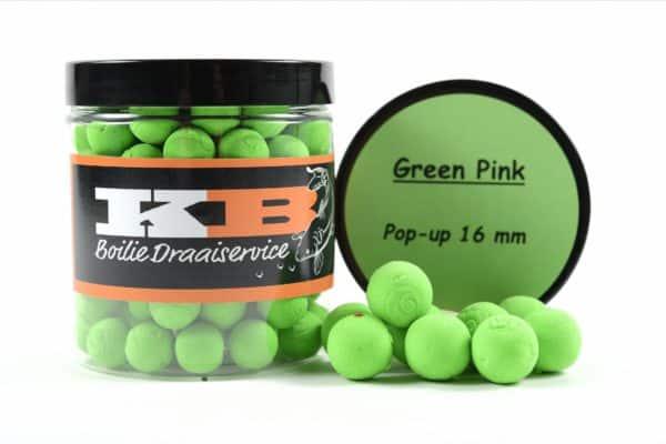 Pop Ups Green Pink KB Boilies