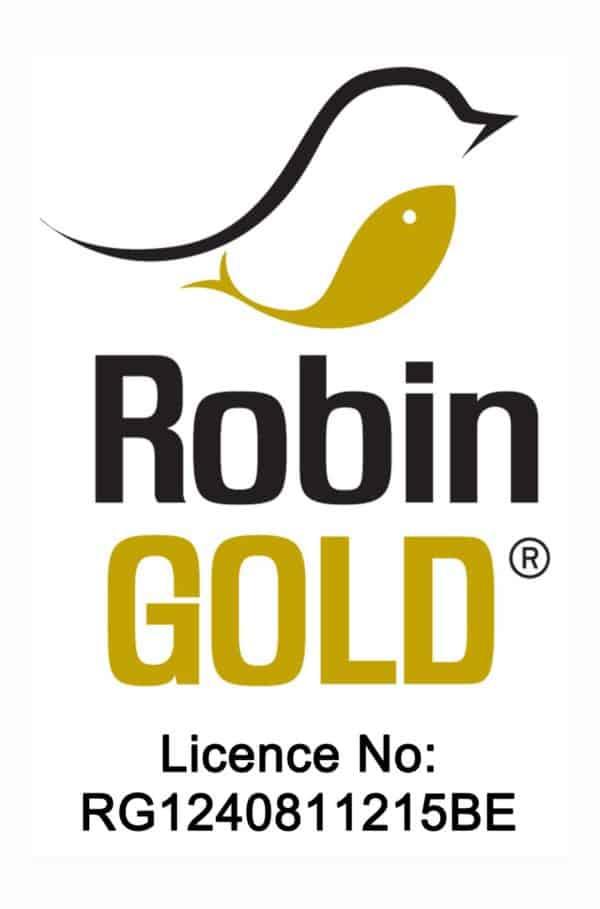 KB Licence Robin Gold