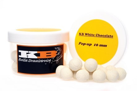 Pop Up White Chocolate KB Boilies