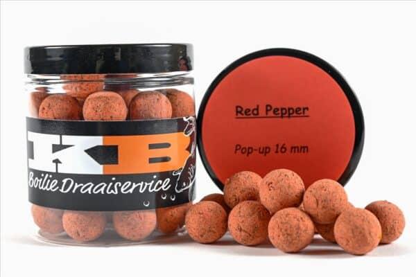 Red Pepper pop ups dia 16