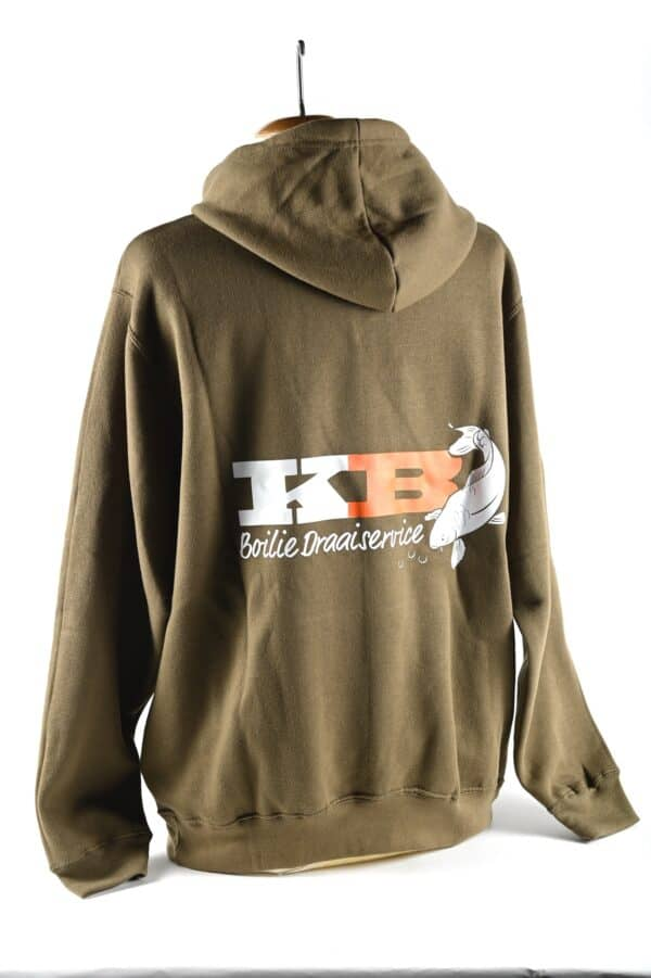 KB Sweater Green back