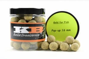 Pop Ups Gold for Fish KB Boilies