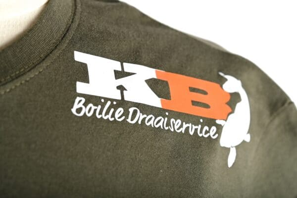 KB T Shirt Green logo front