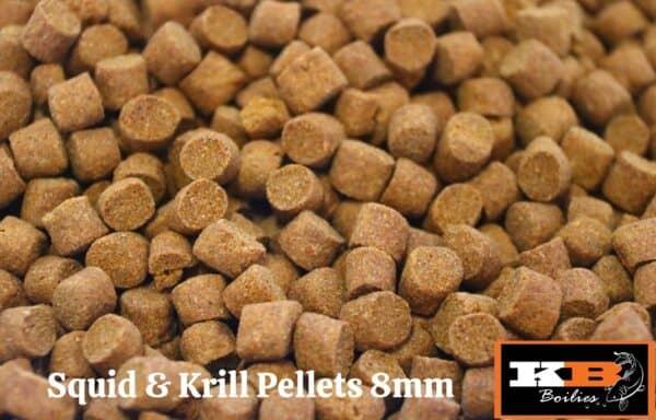 Squid & Krill pellets 8mm